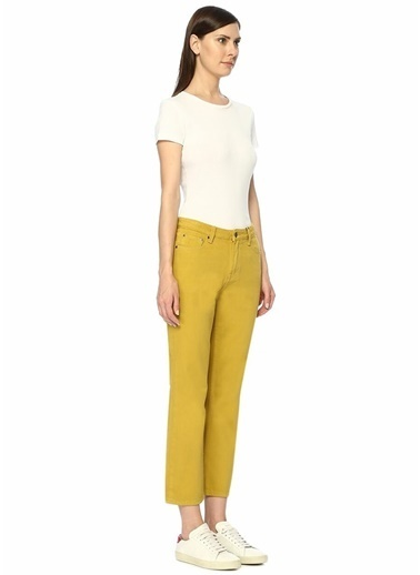 Evidnt Denim Pantolon Sarı